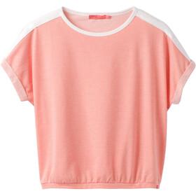 Prana Zosia T-shirt manches courtes Femme, georgia peach